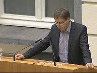 Lode Vereeck over de beslissing tot oprichting vzw I-Cleantech