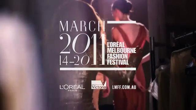 L'OREAL Melbourne Fashion Festival 2011 Melissa George