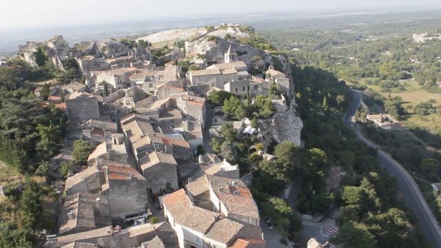 Oktokopter Flugaufnahmen Provence