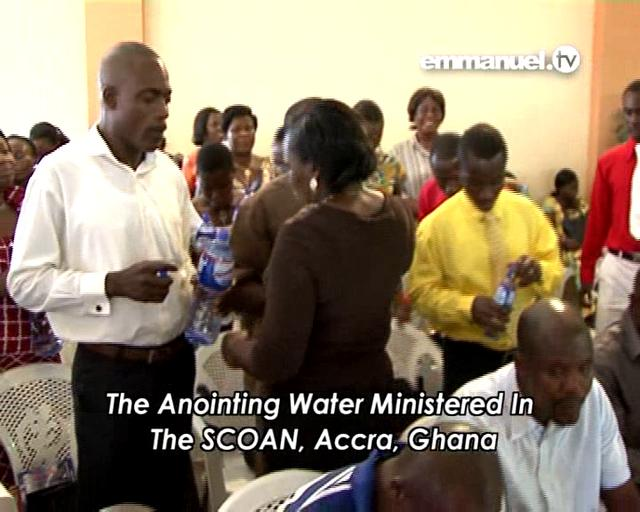 Anointing Water - GHANA (October 11)