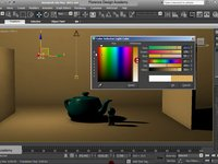 Basic Lighting Settings in 3ds Max