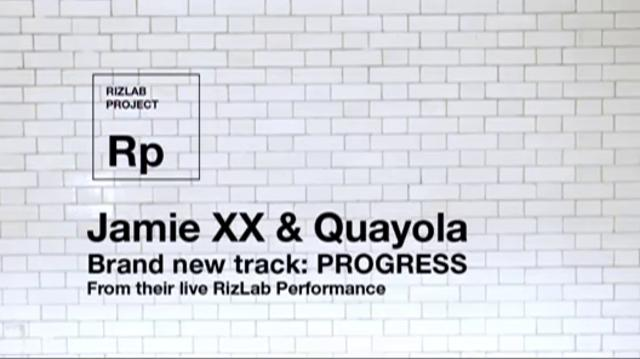 "Jamie xx - ""Progress"""