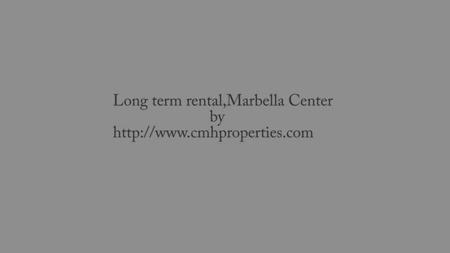 Long term rentals in Marbella center
