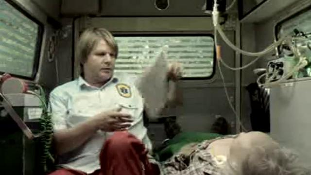 Centraal Beheer TVC 70'' - Ambulance poster