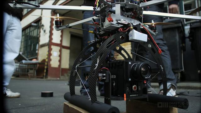 OM-Copter Lets the RED Epic Camera Fly