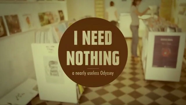 Miniatura del vídeo I Need Nothing - a nearly useless odyssey