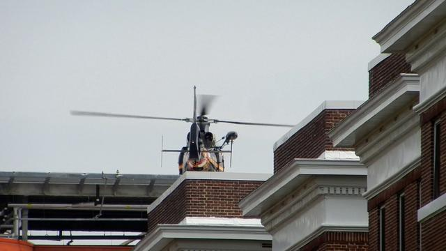 Helicopter Landing on Roof of Hospital on Vimeo