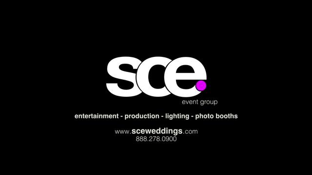 SCE Event Group Wedding Production Preview