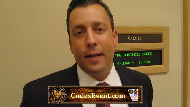 Business Codex Testimonial by James Pagan #57