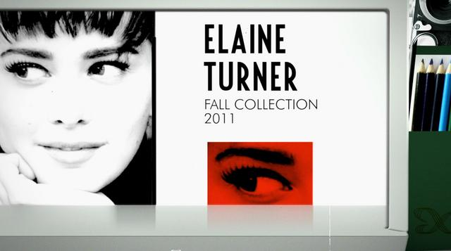 Elaine Turner Fall Collection 2011 - Funny Face
