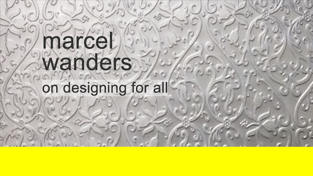 marcel wanders on designing for all