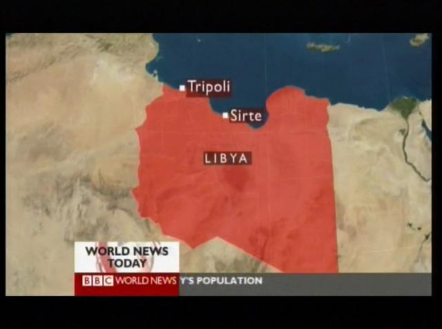 Scorched Earth in Sirte (BBC-Report)