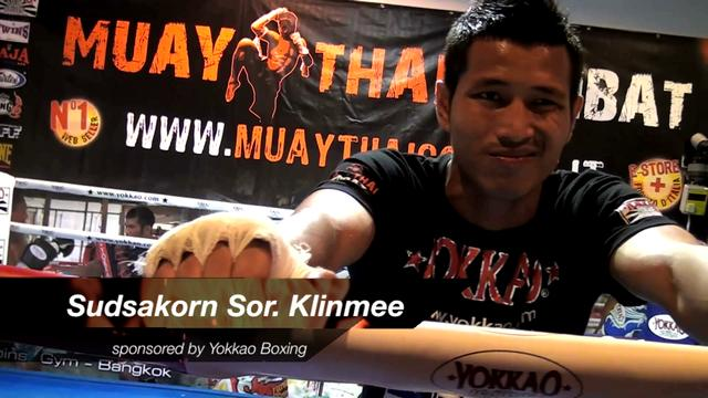 Sudsakorn Sor Klinmee hard training @ Muay Thai Combat Gym