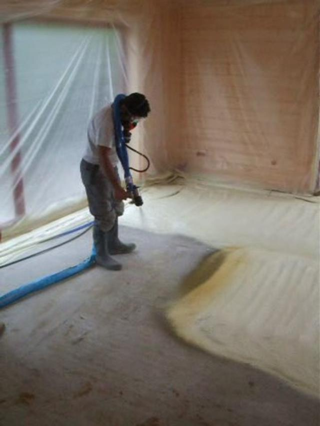 pulv risation de mousse isolante on vimeo. Black Bedroom Furniture Sets. Home Design Ideas
