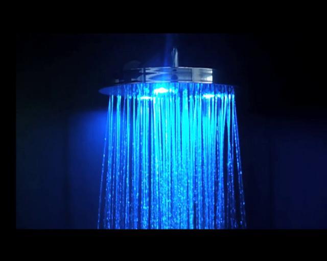 Soffioni doccia con cromoterapia soffioni doccia a led - Doccia led cromoterapia ...