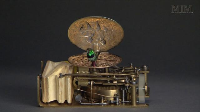From the Collection: Mechanical Bird Music Box