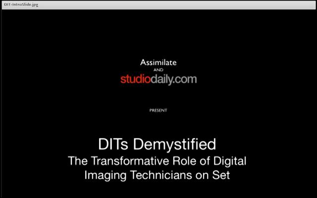 Webinar: DITs Demystified