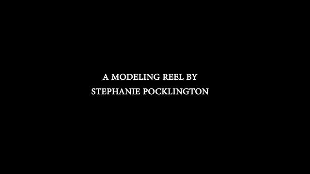"Stephanie Pocklington's ""Forest Guardian"" Modeling Demo Reel"