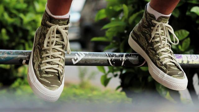 Video: KICKS/HI x Converse 'Tiger Camo' Chuck Taylor