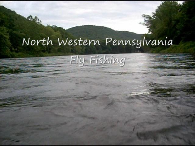 Nw pa fly fishing on vimeo for Fly fishing pa