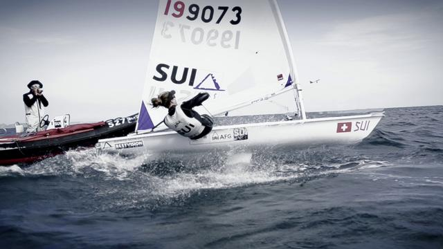Best of Swiss Sailing Team in Weymouth Pre Olympic Regatta 2011