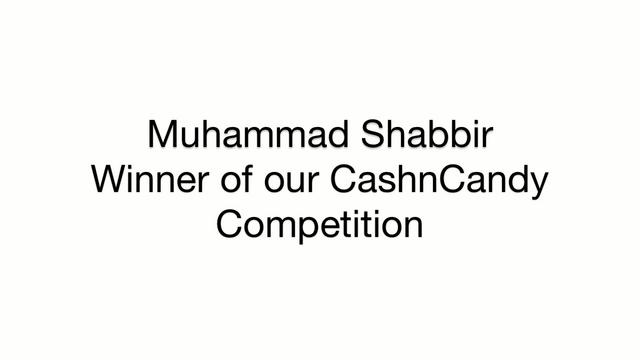 Check out our CashnCandy winner