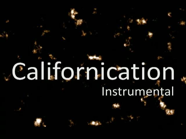 Californication Instrumental Cover