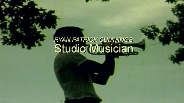 STUDIO MUSICIAN Ryan Patrick Cummings