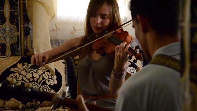 Nettle & Hassan Wargui (Imanaren) live in Tangiers, Morocco