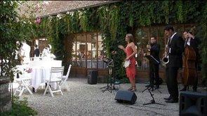 vidéo sur prestation, chanteuse de jazz, bossa nova paris ile de france, jazz mariage, événement, jazz band , event jazz.