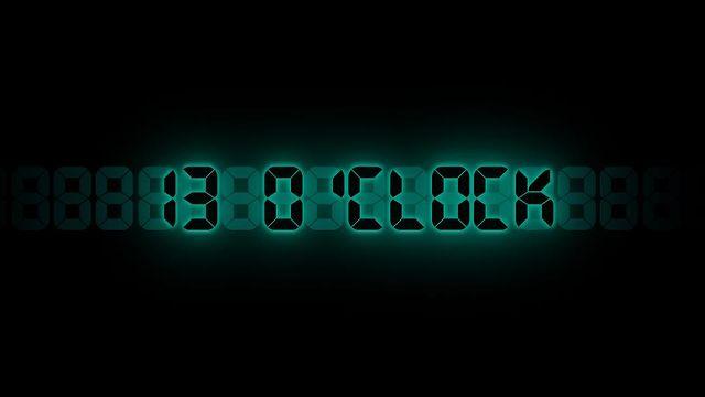 Sceny z 13 O'CLOCK