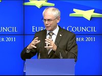 Extract during the press conference of the European Council