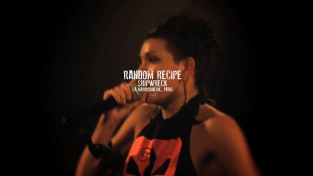 RANDOM RECIPE - SHIPWRECK @ LA MAROQUINERIE