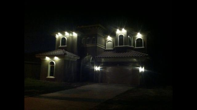 soffit down lighting with br20 led light bulbs on vimeo