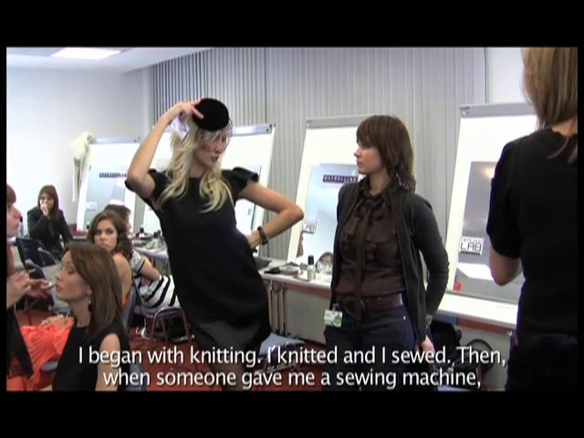 TV Segment - Current TV - &quot;Moscow Fashion&quot;