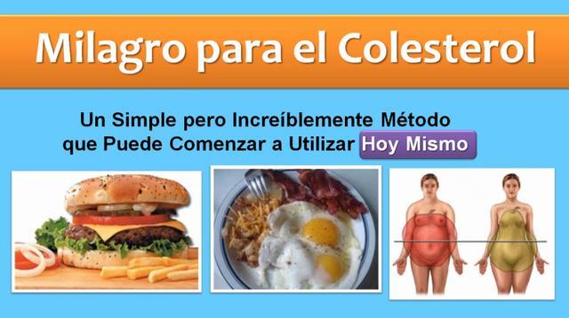 alimentos para bajar el colesterol - colesterol malo - hdl colesterol