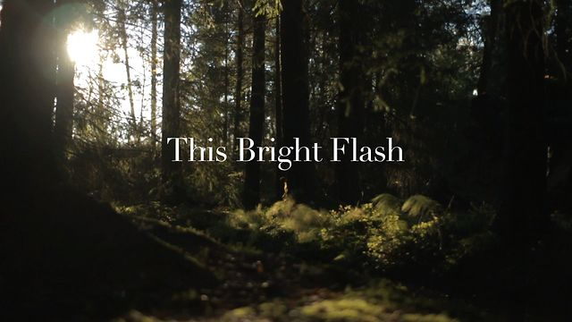m83 – this bright flash