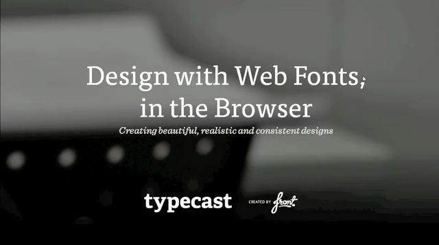 Typecast Screencast