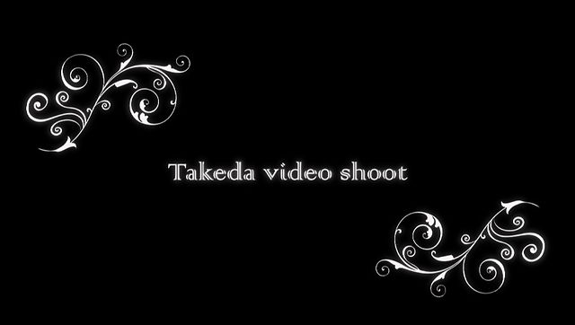 takeda video shoot - behind the scenes