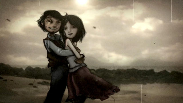 SHORT LOVE STORY IN STOP MOTION from Carlos Lascano on Vimeo .