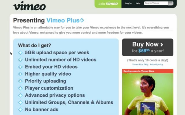 Vimeo Plus Tutorial