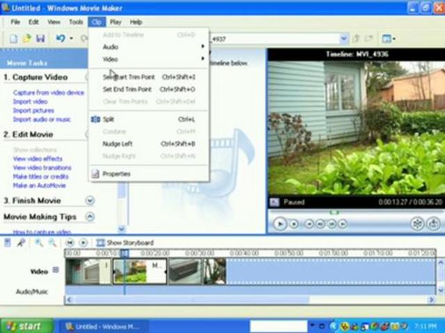 Windows Movie Maker Basics