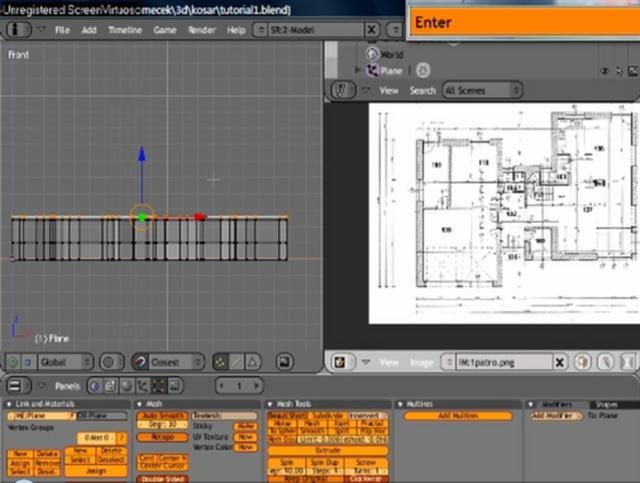 Tutorial Building A House In Blender 3d Software Part 1