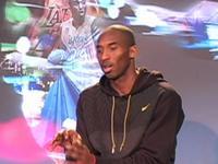 Kobe Bryant at Nike Zoom Kobe IV Press Conference