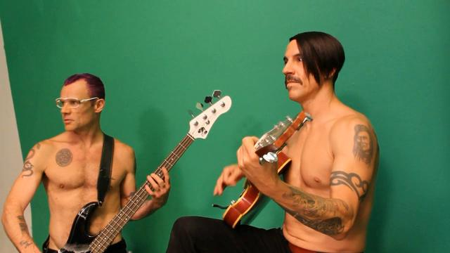"Red Hot Chili Peppers ""Monarchy of Roses"" Behind The Scenes"