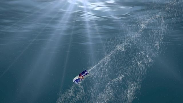 Red Bull Canimation - Under Water Cans