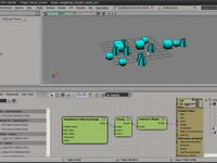 Copy Weights and Color from instance to mesh 2.0