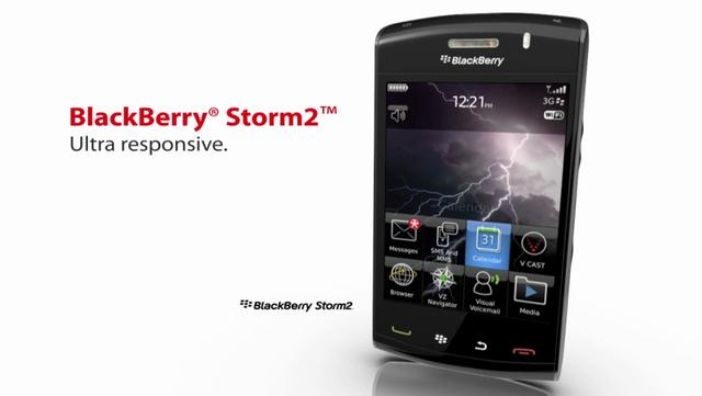 BLACKBERRY // Storm 2