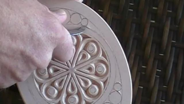 Chip carving a hand mirror on vimeo