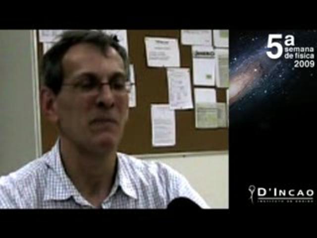 Professor Amâncio - 5ª Semana de Física